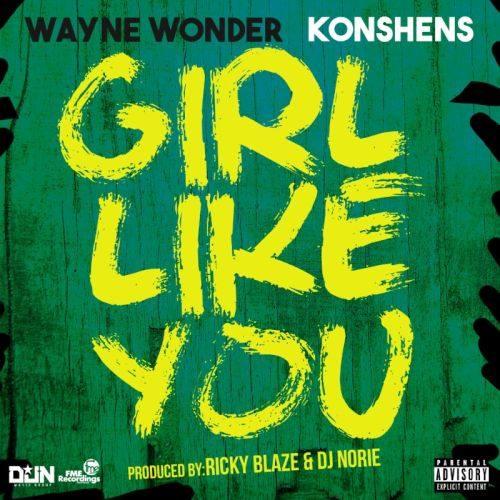 Girl Like You Wayne Wonder and Konshens