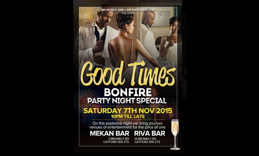 Good Times Party Nov 2015