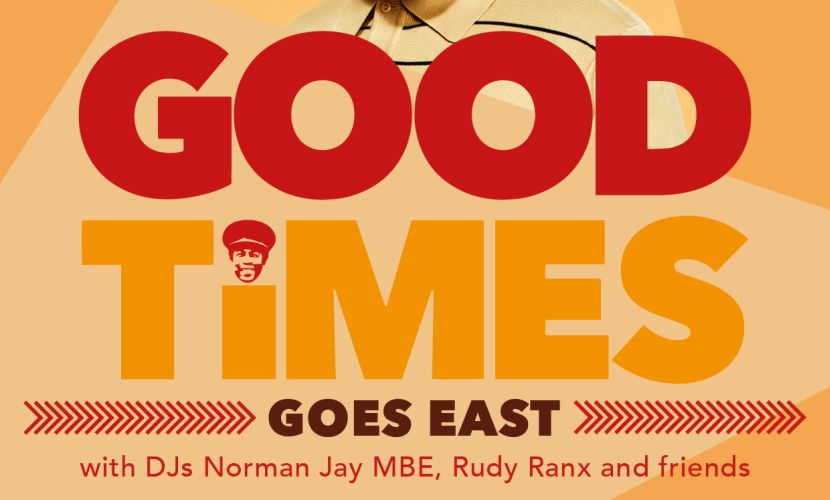 Good Times Goes East Norman Jay 2015