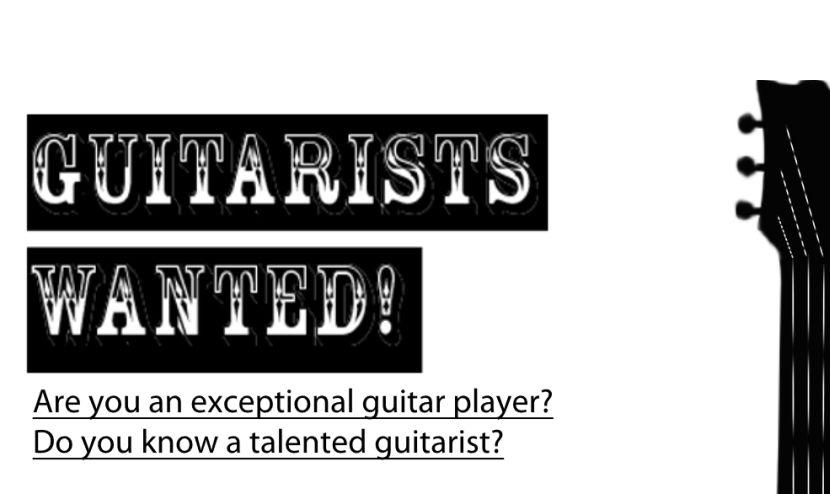 Guitar Talent Wanted UK