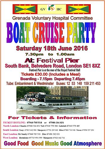 GVHC Summer Boat Cruise Party 2016