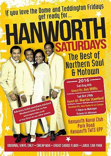 Hanworth Saturdays 2016