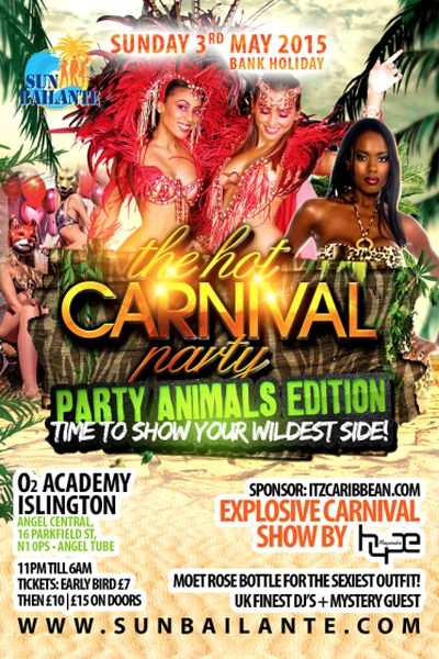 Hot Carnival Party May 2015