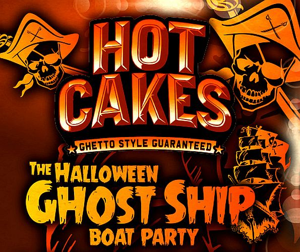 Hotcakes ghostship Halloween Boat Party