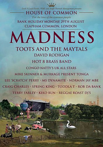 House of Common - Madness festival 2016