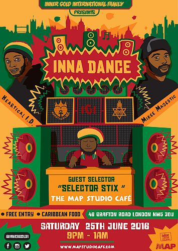 Inna Dance Reggae night