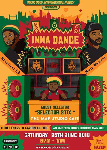Inna Dance Reggae night