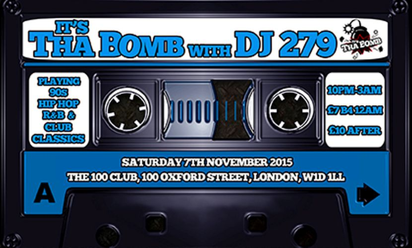 its tha bomb 90's Hip Hop Night