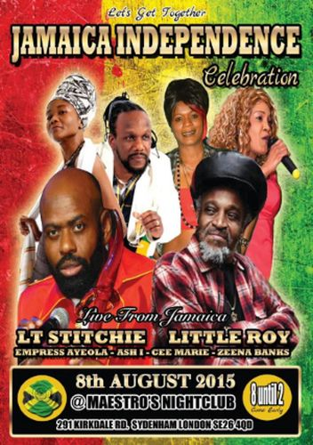 Jamaica Independence 2015 event UK