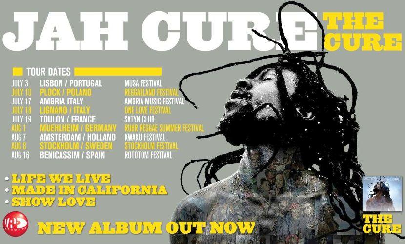 Jah Cure Europe Tour Dates 2015