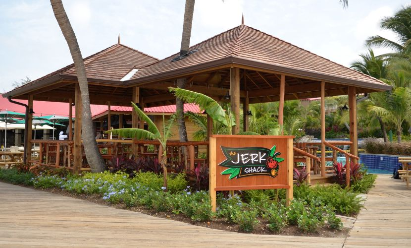 Jerk Shack Sandals Restaurant St Lucia
