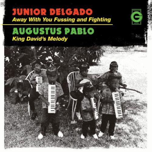 """Junior Delgado 7"""" vinyl"""