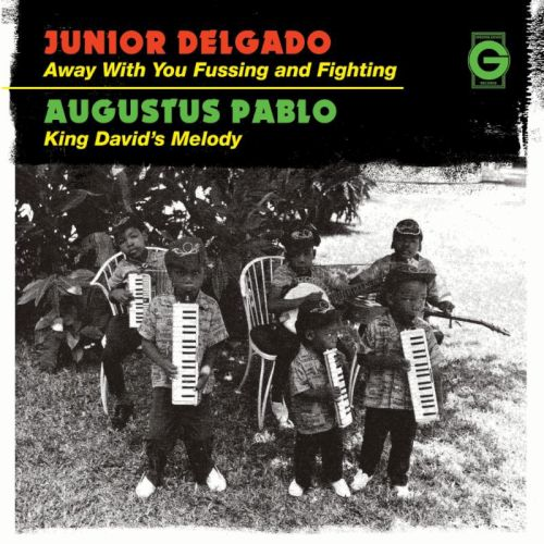 "Junior Delgado 7"" vinyl"