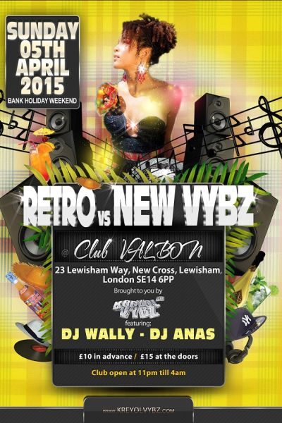 Kreyol Vybz Club Night Retro vs New Vybz