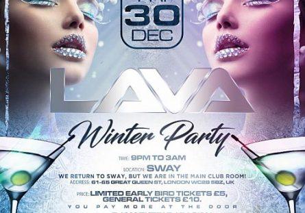 LAVA Winter Party