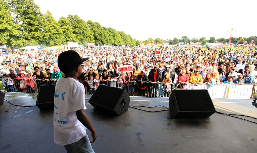 Leicester Carnival Stage