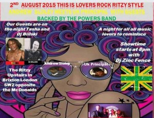 Lovers Rock Ritzy Style