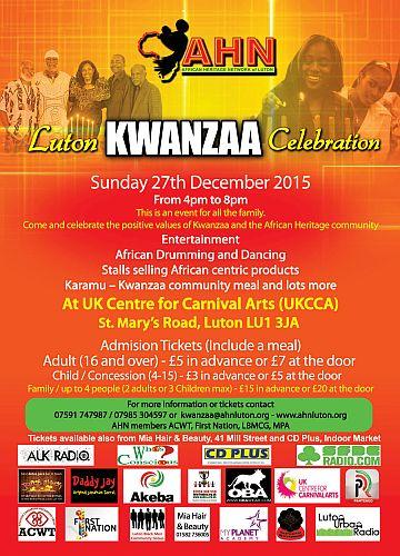Luton Kwanzaa 2015