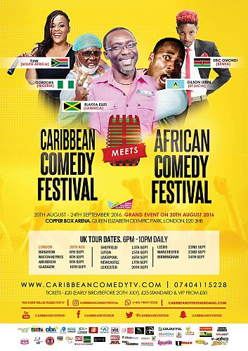 Lyca Caribbean Comedy Festival meets African comedy Festival