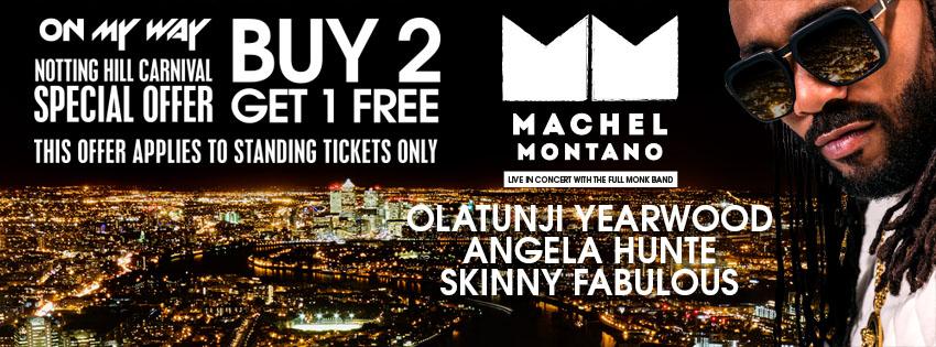 Machel Montano 241 offer