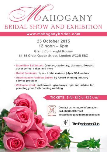 Mahogany Bridal Exhibition 2015