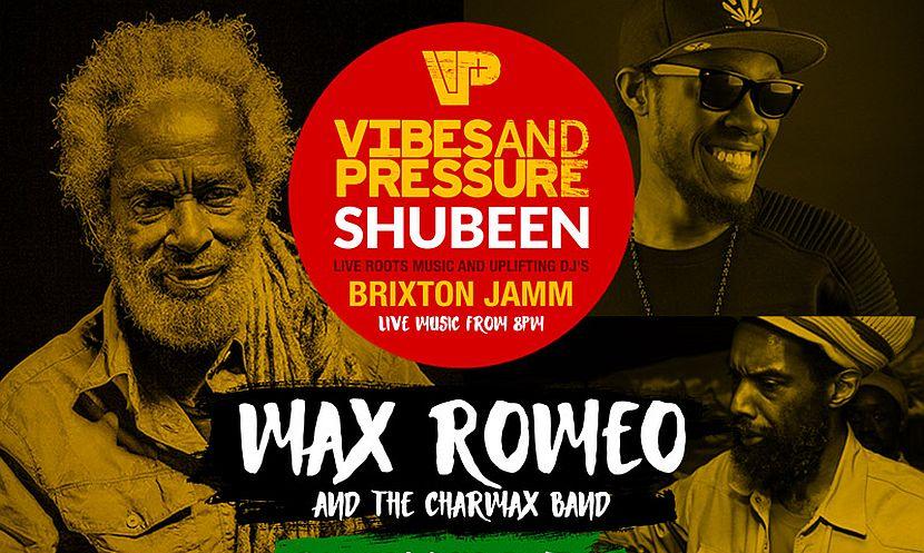 Max Romeo Brixton Jamm 2016