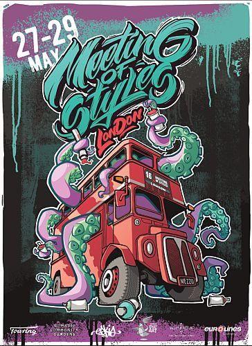 Meeting of Styles Street Art Festival 2016
