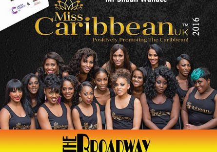 Miss Caribbean UK 2016 flyer