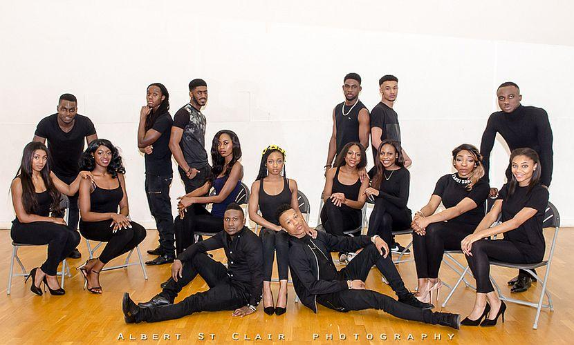 Mr & Miss Black Beauty 2016 group
