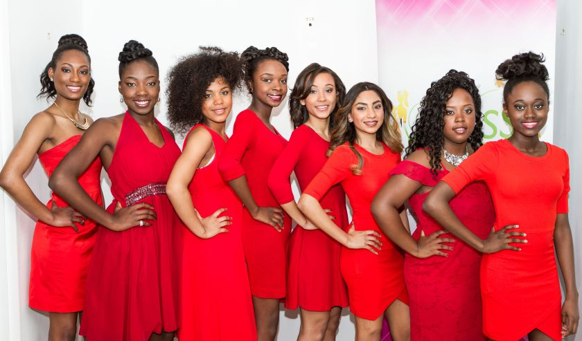 Miss Teen Caribbean Contestants 2015