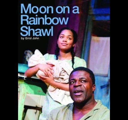 Moon on a Rainbow Shawl