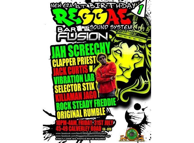 New Era Reggae Night