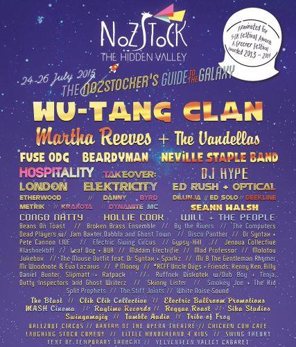 Nozstock Festival 2015 flyer