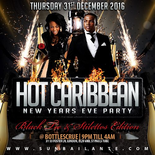 NYE Hot Caribbean Party 2015