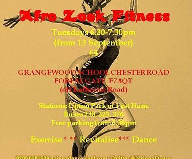 Afro Zouk Fitness