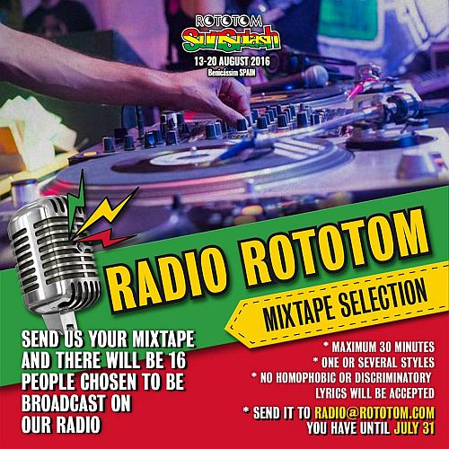 Radio Rototom mixtape Selection