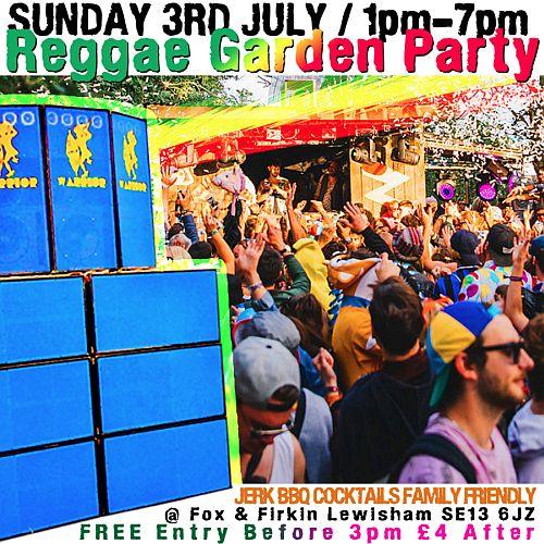 Reggae Garden Party