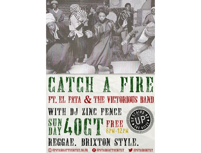 Reggae Night Brixton Catch a Fire