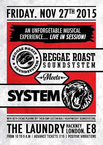 Reggae Roast meets System