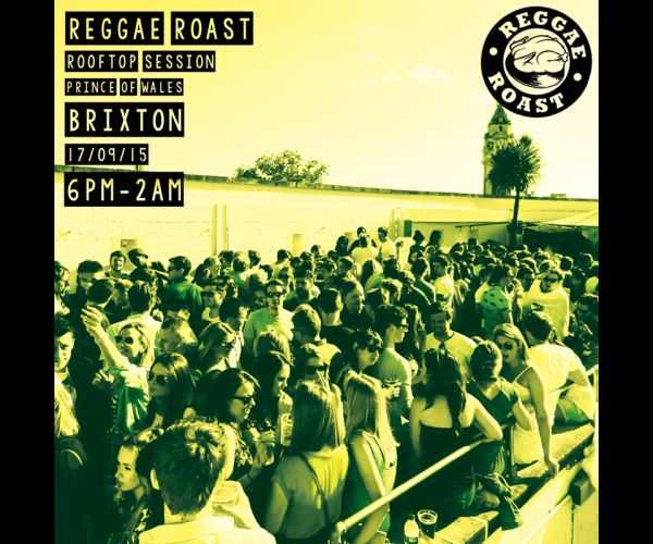 Reggae Roast Rooftop Party