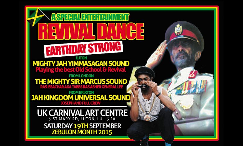 Revival Dance UK Carnival Centre 2015