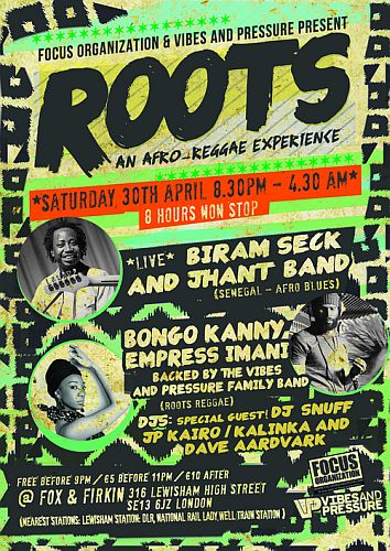 Roots Afro Reggae Event