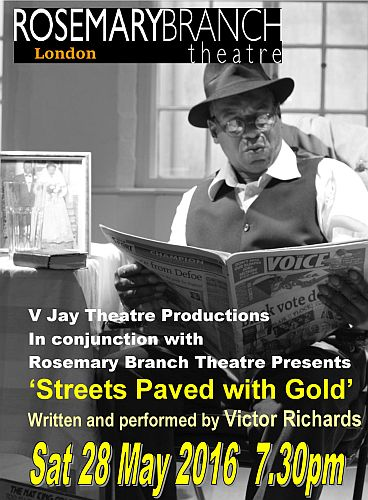 Rosemary Branch Theatre Streets Paved with Gold