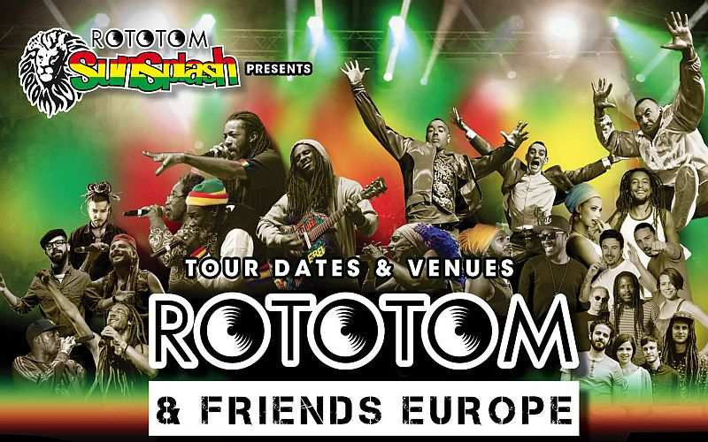 Rototom Tour 2016 Europe