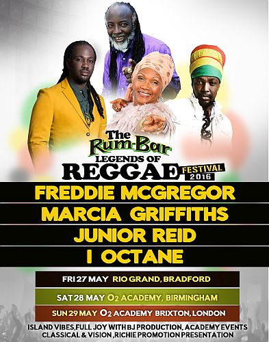 Rum Bar legends of Reggae Festival