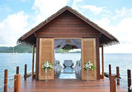 Overwater Wedding Chapel Sandals