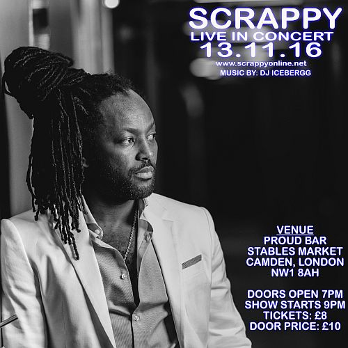 Scrappy Stage Tour