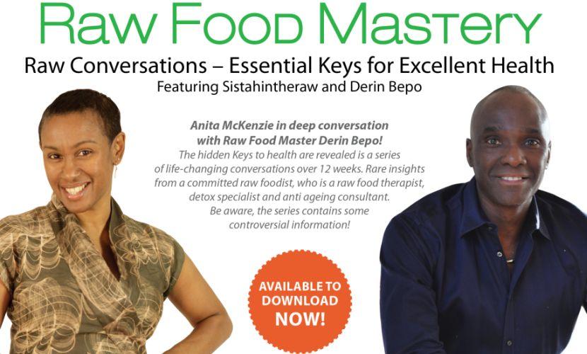 Sistahintheraw Raw Food Revelations Audio