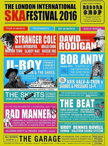 London International Ska Festival 2016