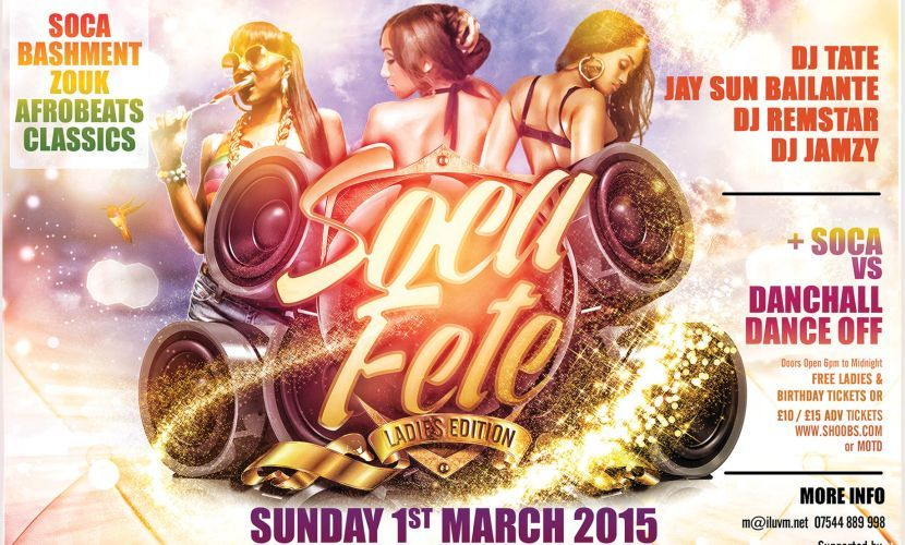Soca Fete Ladies Edition March 2015
